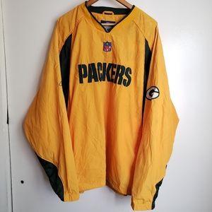 Vintage NFL Green Bay Packers Windbreaker Jacket